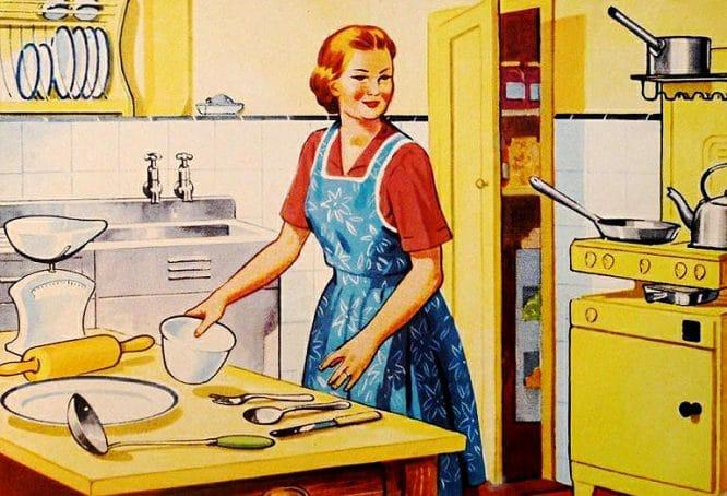 Retro - Hausfrau