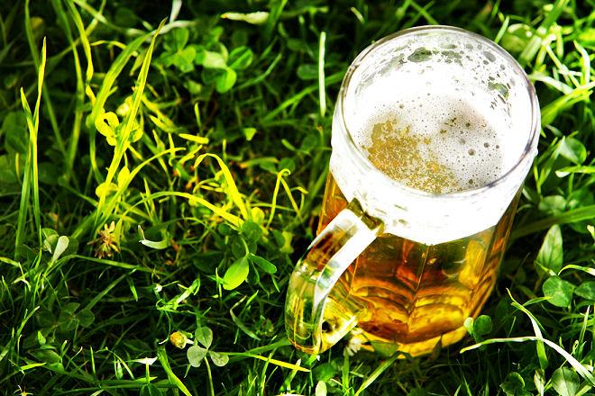 Getränke natürlich kühlen - am besten im Garten