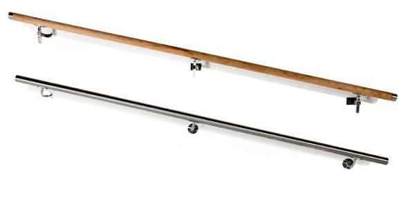 Handlauf aus Stahl bzw. Holz