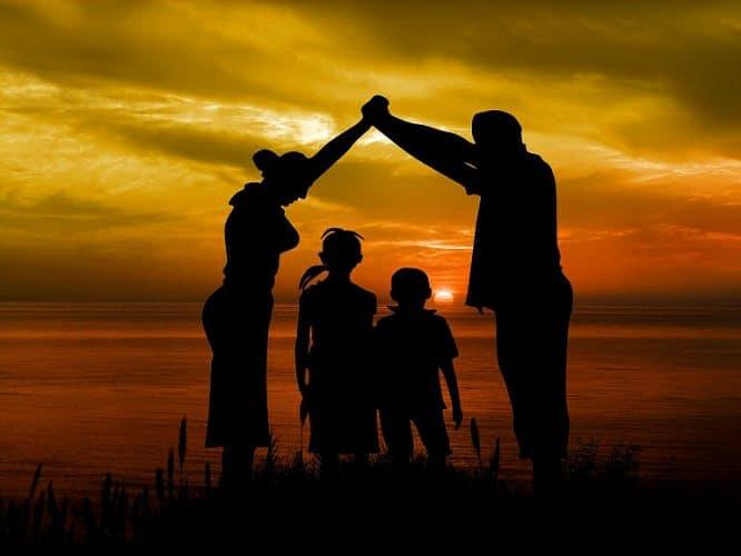 Sicherheit im Eigenheim bietet der ganzen Familie Schutz.