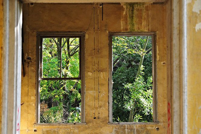 Fenster adé - das waren einmal Fenster ...