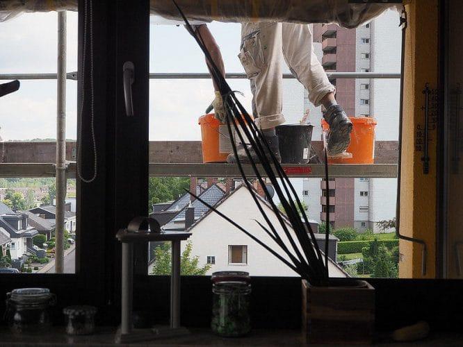 Handwerker im Haus - das sind stressige Zeiten.