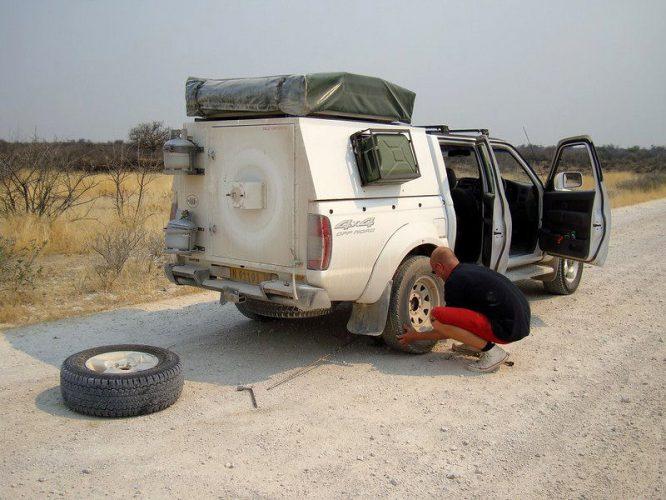 Ein Reifenwechsel kann mühsam werden.
