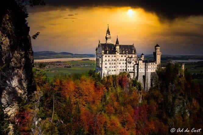 Das Schloss Schwanstein gilt vielen als das schönste Schloss der Welt.