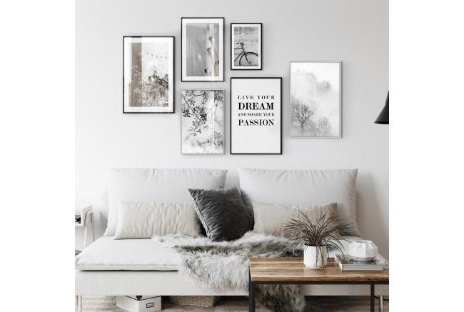 Bilder und passende Rahmen sind wichtig für jede Wohnkultur.