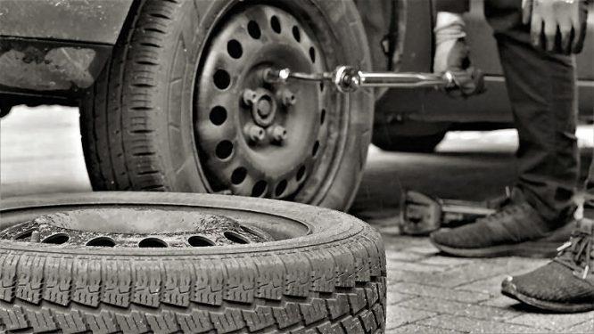 Reifenwechsel muss oft schnell gehen.