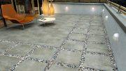 Terrassenplatten aus Beton können optisch durchaus was her machen.