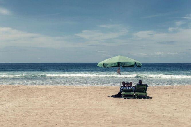 Mit dem Sonnenschirm alles richtig machen!