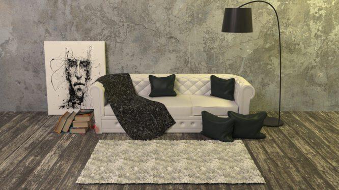 Wohnzimmer minimalistisch