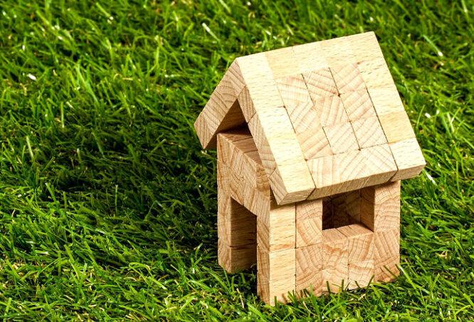 Haus im ganz und gar Grünen