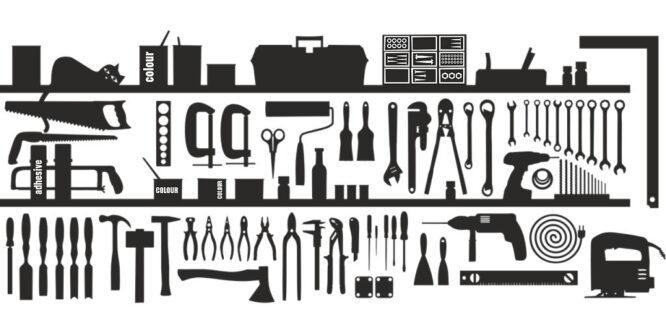 Viele Werkzeuge für eine Renovierung kann man sich auch ausleihen.